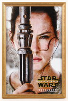 """Star Wars Episode VII: The Force Awakens"" 12x18 Custom Framed Movie Poster Display at PristineAuction.com"