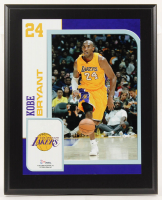 Kobe Bryant Lakers 10.5x13 Plaque Display at PristineAuction.com