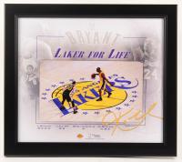 "Kobe Bryant Lakers ""Laker For Life"" 15x17 Custom Framed Photo Display at PristineAuction.com"