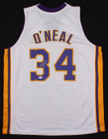 Shaquille O'Neal Signed Jersey With Kobe Bryant #24 Patch (Beckett COA) at PristineAuction.com