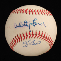 Yogi Berra & Whitey Ford Signed OAL Baseball (JSA COA) at PristineAuction.com