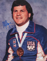 "Mike Eruzione Signed Team USA 11x14 Photo Inscribed ""80 Gold"" (PSA COA) at PristineAuction.com"