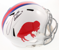 Josh Allen Signed Bills Full-Size Authentic On-Field Speed Helmet (JSA COA) at PristineAuction.com