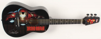 "Stan Lee Signed ""Iron Man"" 31.75"" Acoustic Guitar (PSA Hologram) at PristineAuction.com"