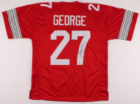 Eddie George Signed Jersey (Beckett COA) at PristineAuction.com