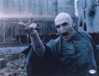 "Ralph Fiennes Signed ""Harry Potter"" 11x14 Photo (PSA COA) at PristineAuction.com"