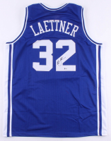 Christian Laettner Signed Jersey (Beckett COA) at PristineAuction.com