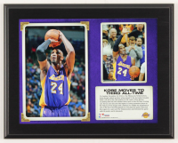 """Kobe Bryant Lakers """"Kobe Moves to Third All-Time."""" 10.5x13 Custom Photo Plaque Display at PristineAuction.com"""