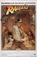 "Indiana Jones ""Raiders of the Lost Ark"" 26.5x40 Movie Poster at PristineAuction.com"