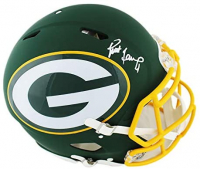 Brett Favre Signed Packers Full-Size Authentic On-Field AMP Alternate Speed Helmet (Radtke COA) at PristineAuction.com