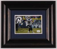 Todd Gurley II Signed Rams 12.5x14 Custom Framed Photo Display (JSA Hologram) at PristineAuction.com