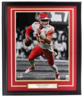 Patrick Mahomes Signed Chiefs 22x27 Custom Framed Photo (JSA COA) at PristineAuction.com