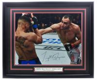 "Tony Fergunson Signed UFC 22x27 Custom Framed Photo Inscribed ""El Cucuy"" (PSA COA) at PristineAuction.com"