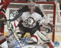 Martin Biron Signed Sabres 8x10 Photo (Pro Player Hologram) at PristineAuction.com
