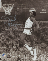 David Thompson Signed Nuggets 8x10 Photo (Pro Player Hologram) at PristineAuction.com