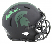 Magic Johnson Signed Michigan State Spartans Eclipse Alternate Speed Mini Helmet (Beckett COA) at PristineAuction.com
