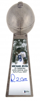 "Michael Irvin Signed Cowboys 15"" Lombardi Trophy (Beckett COA) at PristineAuction.com"