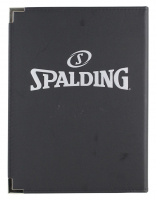 Magic Johnson Signed Spalding Notebook (Beckett COA) at PristineAuction.com