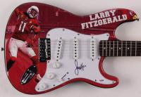 "Larry Fitzgerald Signed Cardinals 39"" Huntington Electric Guitar (PSA Hologram) at PristineAuction.com"