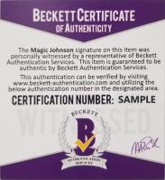 Magic Johnson Signed Lakers 16x20 Photo (Beckett COA) at PristineAuction.com