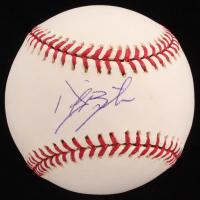 Daric Barton Signed OML Baseball (Sids Graphs COA) at PristineAuction.com
