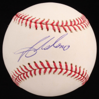 Angel Salome OML Baseball (Sids Graphs COA) at PristineAuction.com
