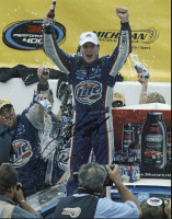 Kurt Busch Signed NASCAR 11x14 Photo (PSA COA) at PristineAuction.com