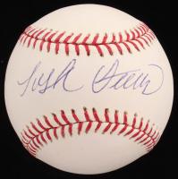 Josh Vitters Signed OML Baseball (Sids Graphs COA) at PristineAuction.com