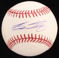 Brian Matusz Signed OML Baseball  (PSA COA) at PristineAuction.com