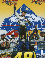 Jimmie Johnson Signed NASCAR 11x14 Photo (PSA COA) at PristineAuction.com