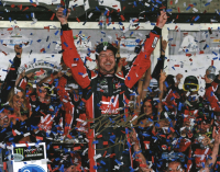 Kurt Busch Signed NASCAR 11x14 Photo (Beckett COA) at PristineAuction.com