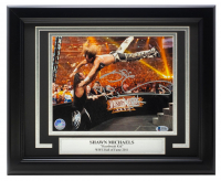 Shawn Michaels Signed WWE 11x14 Custom Framed Photo (Beckett COA) at PristineAuction.com