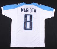 Marcus Mariota Signed Jersey (JSA COA & Mariota Hologram) at PristineAuction.com