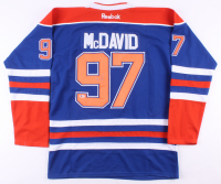 Connor McDavid Signed Oilers Captain's Jersey (Beckett COA) at PristineAuction.com