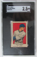 1919-21 W514 #110 Zach Wheat (SGC Authentic) (Hand Cut) at PristineAuction.com