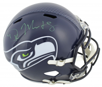D.K. Metcalf Signed Seahawks Full-Size Speed Helmet (Beckett COA) at PristineAuction.com