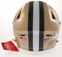 Drew Brees Signed New Orleans Saints Full-Size Authentic On-Field SpeedFlex Helmet (Beckett COA & Brees Hologram) at PristineAuction.com