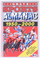 "Michael J. Fox & Christopher Lloyd Signed ""Back to the Future Part II"" Grays Sports Almanac: 1950-2000 Paperback Book (Beckett COA) at PristineAuction.com"