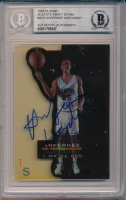Anfernee Hardaway Signed 1993 Classic Acetate Draft Stars #AD1 (BGS Encapsulated) at PristineAuction.com