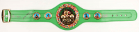 Roberto Duran, Thomas Hearns & Sugar Ray Leonard Signed World Champion WBC Belt (Beckett COA) at PristineAuction.com