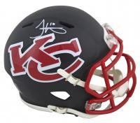 Tyreek Hill Signed Chiefs AMP Alternate Speed Mini Helmet (Beckett COA) at PristineAuction.com
