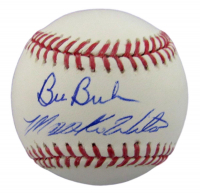 Mookie Wilson & Bill Buckner Signed OML Baseball (JSA COA) at PristineAuction.com