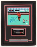"Mike Tyson Signed ""Punch-Out!!"" 15x19 Custom Framed Photo Display with Replica Nintendo Controller (JSA COA) at PristineAuction.com"