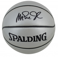 Magic Johnson Signed Mini Basketball (Beckett COA) at PristineAuction.com