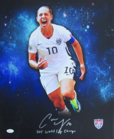 "Carli Lloyd Signed Team USA 16x20 Photo Inscribed ""2015 World Cup Champs"" (JSA COA) at PristineAuction.com"