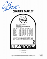 Charles Barkley Signed 76ers 8x10 Photo (JSA COA) at PristineAuction.com