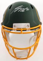 Jordy Nelson Signed Packers Full-Size AMP Alternate Speed Helmet (JSA COA) at PristineAuction.com