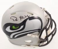 D.K. Metcalf Signed Seahawks AMP Alternate Speed Mini Helmet (JSA COA) at PristineAuction.com