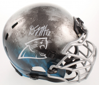 D.J. Moore Signed Panthers Full-Size Authentic On-Field Hydro-Dipped Helmet (JSA COA) at PristineAuction.com