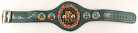 Roberto Duran, Thomas Hearns & Sugar Ray Leonard Signed WBC Full-Size Heavyweight Championship Belt (Beckett COA) at PristineAuction.com